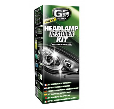 HEADLAMP RESTORER & SCRATCH REMOVER KIT