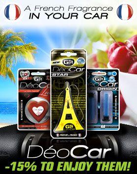deocar GS27 car air fresheners